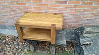 Деревянный журнальный стол под старину
