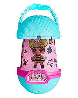 Игрушка сюрприз Кукла LoL Surprise Torch and Night Light с фонариком салатовая