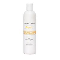Очищающий гель c фруктовыми кислотами для всех типов кожи, 300 мл.