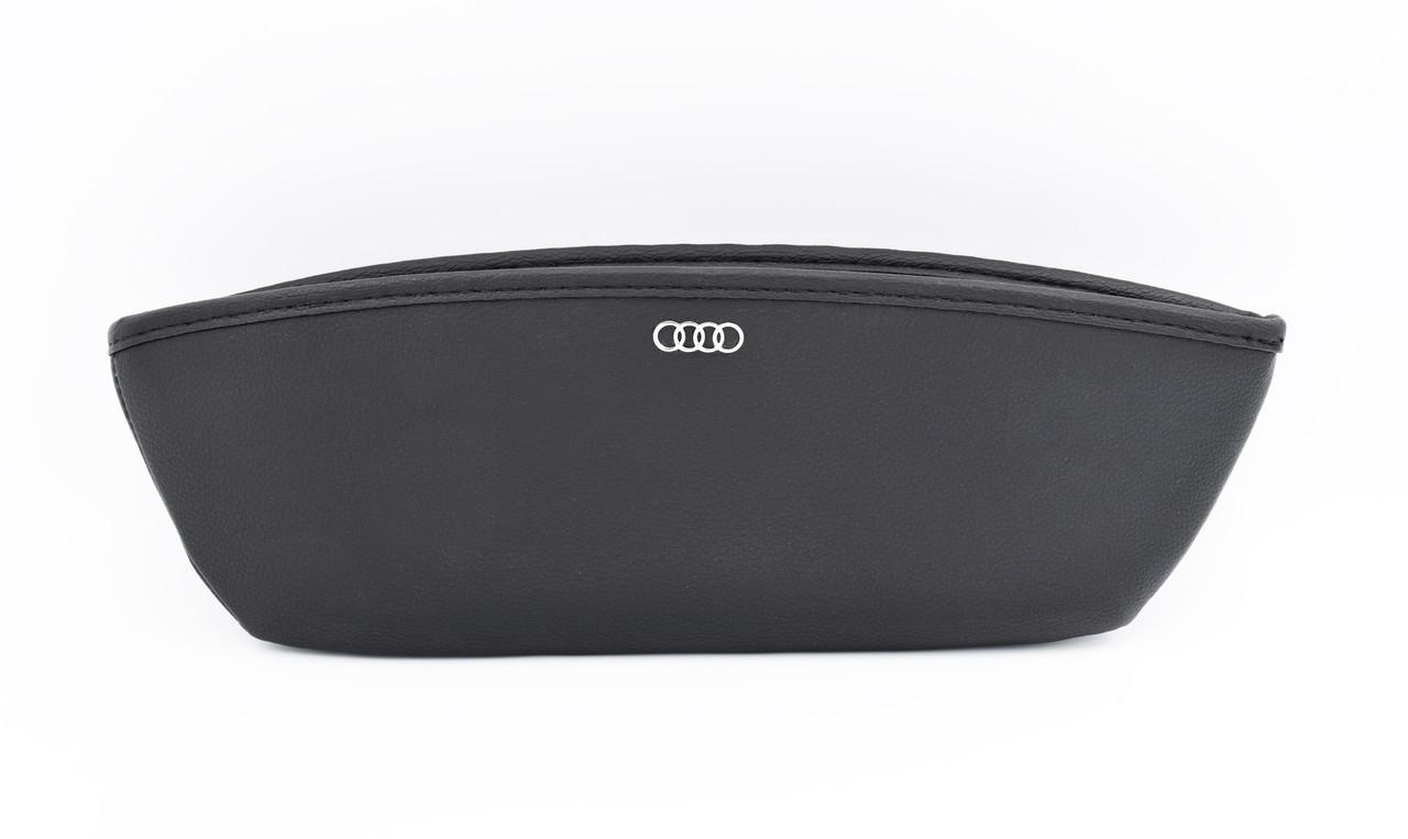 Автомобильный карман-органайзер Type-1 Black с логотипом AUDI пинал для автомобиля подарок
