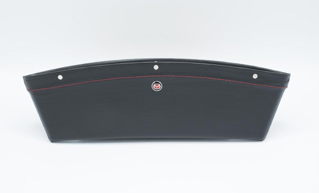 Автомобильный карман-органайзер Type-2 Black с логотипом Mazda пинал для автомобиля подарок