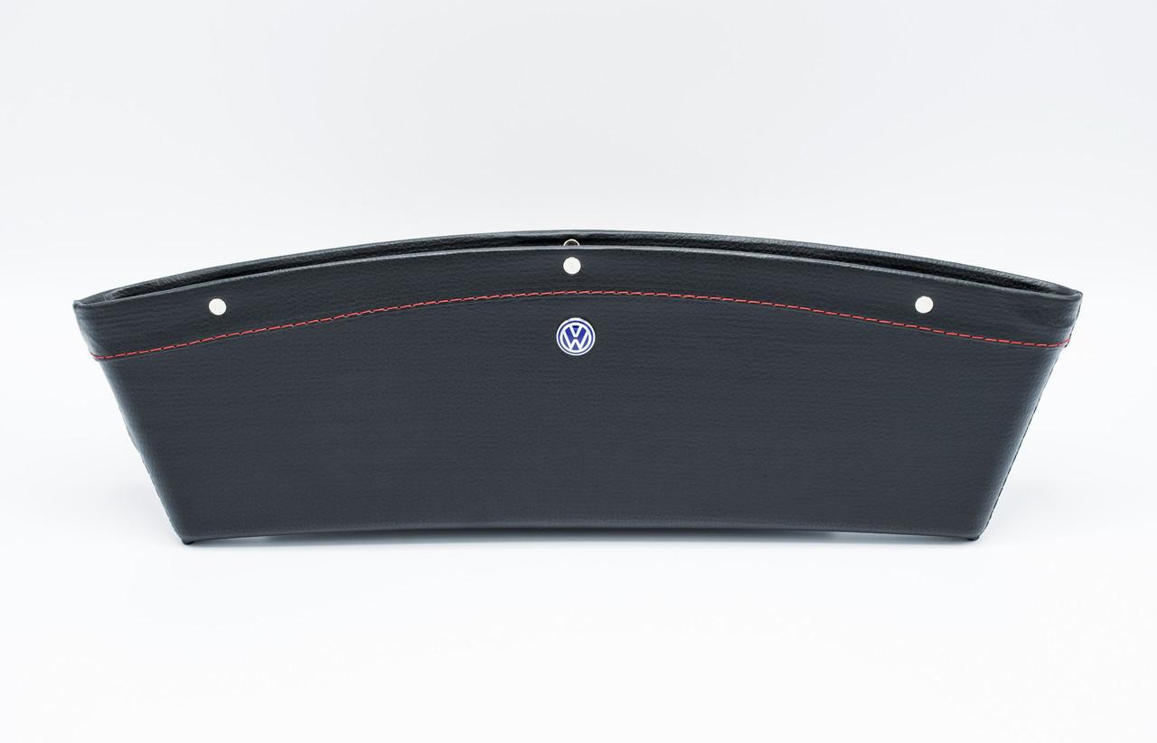 Автомобильный карман-органайзер Type-2 Black с логотипом Volkswagen пинал для автомобиля подарок