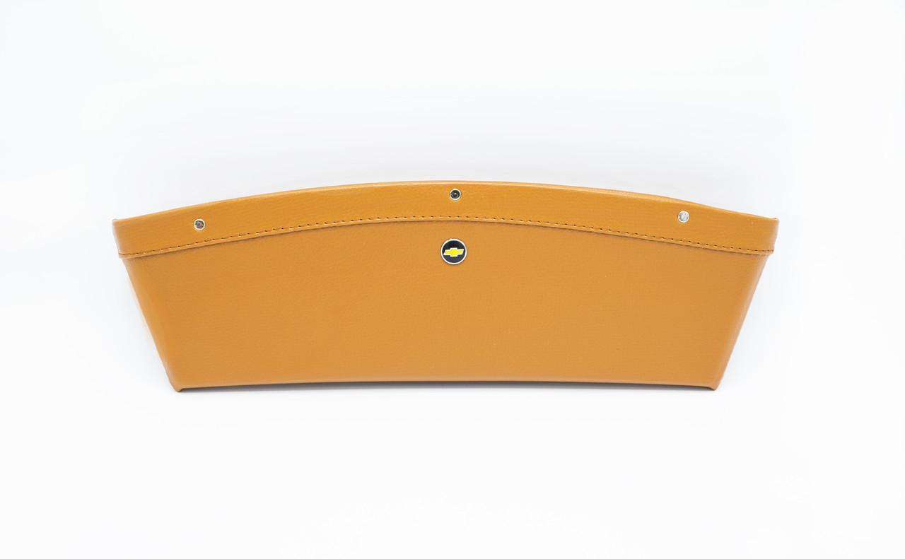 Автомобільний кишеню-органайзер Type-2 Brown з логотипом Chevrolet штовхав для автомобіля подарунок