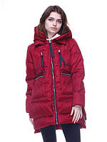 Куртка женская бордовая Nora, фото 1