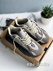 Кроссовки мужские Adidas Yeezy Boost 700 V2 Colorway (серые) Top replic, фото 3