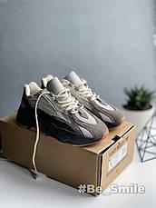 Кроссовки мужские Adidas Yeezy Boost 700 V2 Colorway (серые) Top replic, фото 2