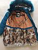 Куртка підліткова для дівчаток 122-146 див. Україна Оптом 261102-1, фото 2