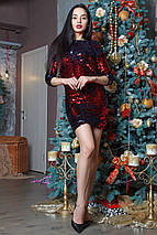 Женское короткое платье из пайеток (Эми mrb), фото 3
