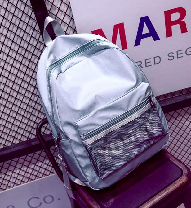 Рюкзак женский городской Young Голубой