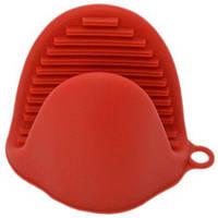 Силиконовая прихватка Krauff 26-184-040 Dainty - 8.5 х 7.8 см, Красная