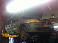 Замена передних и задних амортизаторов Kia Cerato Ceed Rio Киа Серато Сид Рио ремонт и обслуживание
