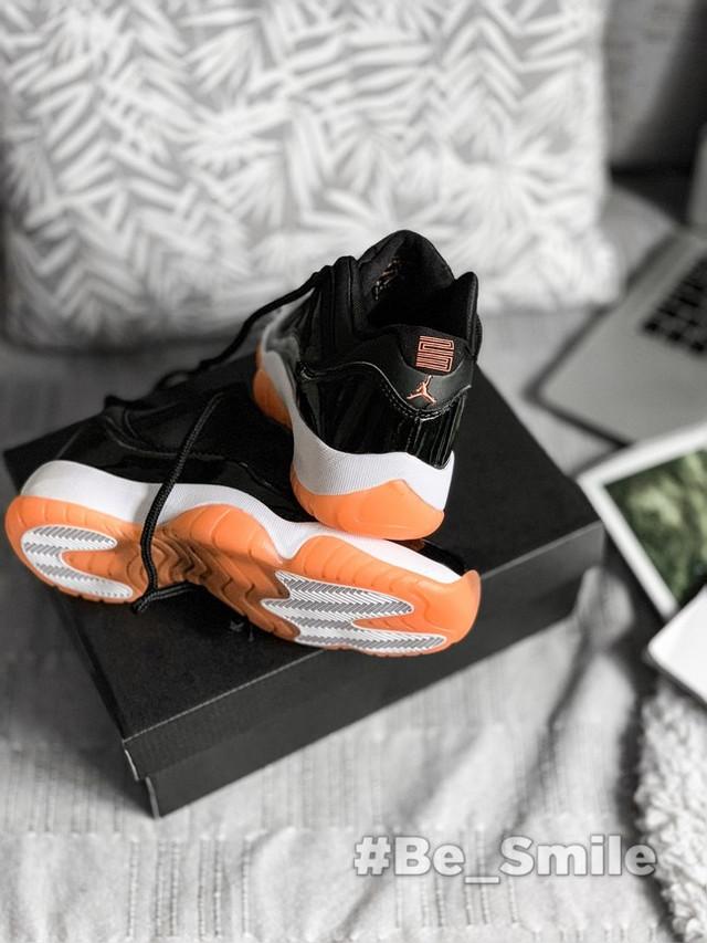 f38ef238b5a8 Описание Кроссовки мужские Nike Air Jordan 11 Retro Low (черные) Top replic