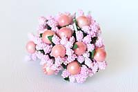 Добавка с шариками 10-12 шт/уп. розового цвета, фото 1