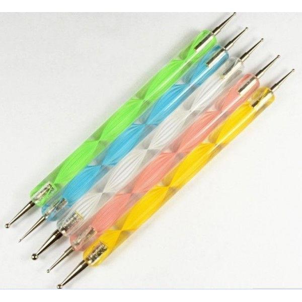 Дотс 5 штук разноцветные рисунок 2