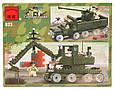 Конструктор Brick 823 «Военный танк», 466 деталей. , фото 2