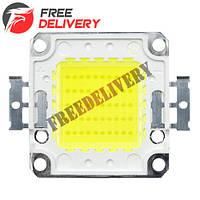 Светодиодная матрица LED 50Вт 4000лм 30-34В, белая