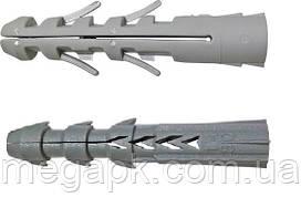 Дюбель Р универсальный, распорный 5х25мм полипропилен (нефасов.)