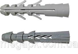 Дюбель Р универсальный, распорный 8х40мм полипропилен (упак. 500 шт)
