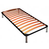Металлический каркас для кровати на ламелях