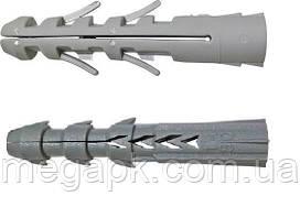Дюбель Р универсальный, распорный 12х60мм полипропилен (упак. 200 шт)