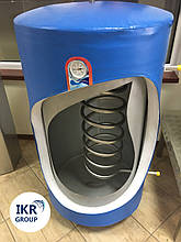 Рекуператор тепла, теплообменник 320 литров для охладителя молока [новый]