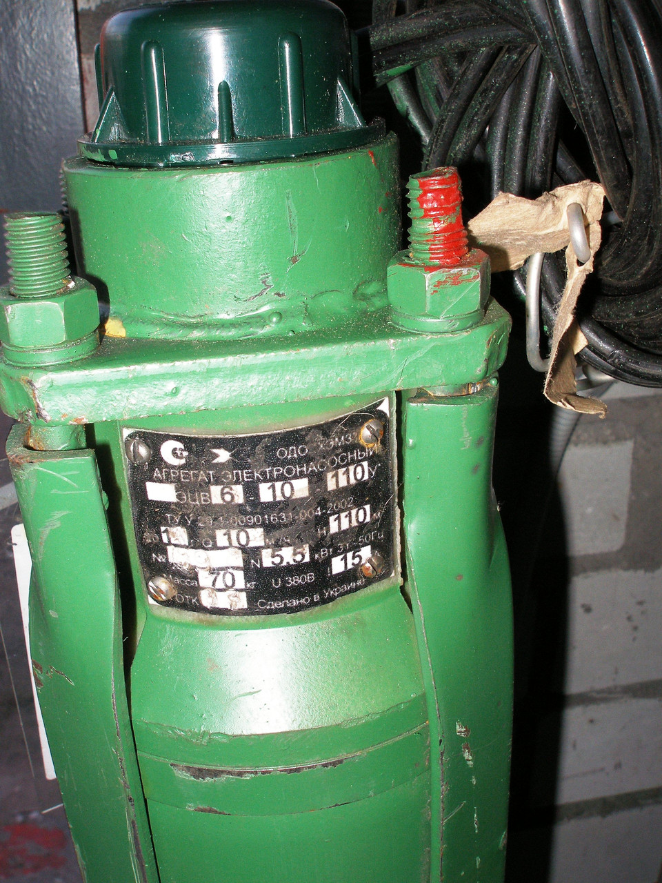 Скважинные насосы тип  ЭЦВ 8-40-120