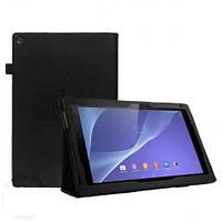 Чехол-книга для Sony Xperia Tablet Z черная WRX Book Cover