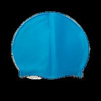 Силіконова шапочка для басейну і плавання, фото 1