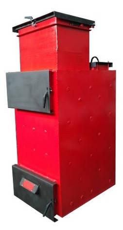 """Пиролизный котел длительного горения Energy Wood (Холмова) """"Люкс"""" с увеличенным бункером 35 кВт, фото 2"""
