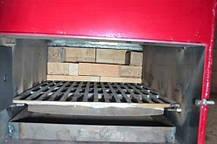 """Пиролизный котел длительного горения Energy Wood (Холмова) """"Люкс"""" с увеличенным бункером 35 кВт, фото 3"""