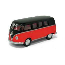 "Машинка KINSMART ""Volkswagen T2 BUS"" (красная)"