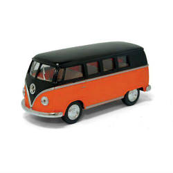 "Машинка KINSMART ""Volkswagen T2 BUS"" (оранжевая)"