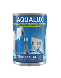 Краска Aqualux 2040 акриловая для дерева и металла, белая, Станколак (Stancolac) 10 л