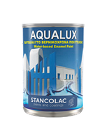 КраскаAqualux 2040 акриловая для дерева и металла, белая, Станколак(Stancolac) 10 л