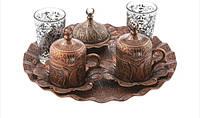 Набор чашек для кофе Бронзовый тюльпан Sena на 2 персоны