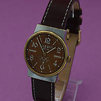 Cornavin Deluxe наручные механические часы СССР , фото 1