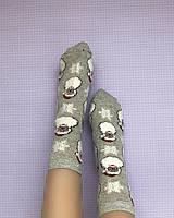 Длинные носки с люрексом