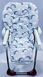 Односторонний чехол на стульчик для кормления Chicco Polly, фото 3