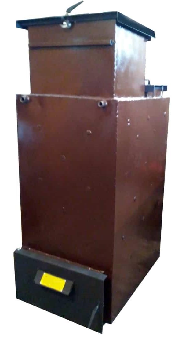 """Пиролизный котел длительного горения Energy Wood (Холмова) """"Люкс"""" с увеличенным бункером 35 кВт"""