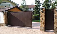 Консольные откатные ворота, фото 1