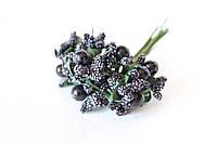 Добавка с шариками 6 шт/уп. черного цвета, фото 1