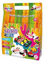 Игровой набор для лепки Мистер тесто Суши-бар 26 пред. Sushi Bar Стратег Strateg 71207 009833