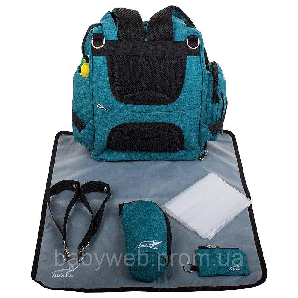 d39576c6b742 Сумка-органайзер для мам, сумка на коляску LeLeka babyDi Ocean -  Интернет-магазин