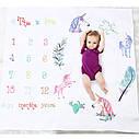 Пелёнка для фотосессий для новорождённого по месяцам 07, фото 2
