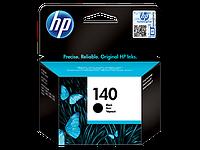 Оригинальный черный струйный картридж HP - 140, Black