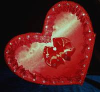 """Сердце для свадебных денег """"Любовь"""""""