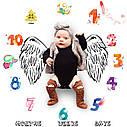 Пелёнка для фотосессий для новорождённого по месяцам 09, фото 2