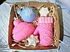 """Подарочный/сувенирный набор мыла для рук """"Зимние праздники"""""""
