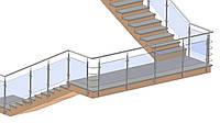 Ограждение лестницы, фото 1