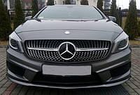 "Решетка радиатора ""Diamond"" на Mercedes A-class"